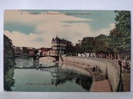 Verdun. Promenade De La Digue Et Le Pont Neuf - Verdun