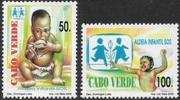 CABO VERDE 2000 ALDEIA INFANTIL  - VILLAGE D'ENFANTS - CHILDREN'S VILLAGE - Kap Verde