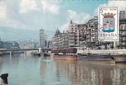 España Nº 1699 En Tarjeta - Maximum Cards