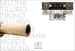 2020 FDC, EUROPA, Croat Post Mostar, Bosnia And Herzegovina, MNH - Bosnie-Herzegovine
