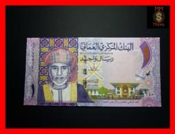 OMAN 1 Rial  2015  P. 48 B  *COMMEMORATIVE* CORRECT DATE   UNC - Oman