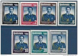 1959 GUATEMALA PA 235-41** Libération - Guatemala