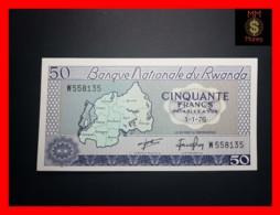 RWANDA 50 Francs 1.1.1976  P. 7 C   UNC - Rwanda