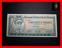RWANDA 500 Francs 19.4.1974  P. 11  UNC - Rwanda