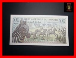 RWANDA 100 Francs 1.1.1978  P. 12  UNC - Rwanda