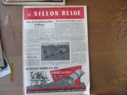LE SILLON BELGE DU 23 AVRIL 1955 LES ETAPES D'UNE EVOLUTION DE LA MONTAGNE A LA MER,TROIS ANS DE STABULATION LIBRE EN BE - Animals