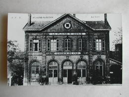 PHOTO Repro De CPA - Gare - La Gare De La Plaine Saint Denis - Trains