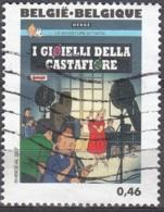 Belgique 2007 COB 3657 O Cote (2016) 1.20 Euro Tintin Les Bijoux De La Castafiore - Oblitérés