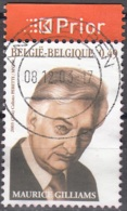Belgique 2003 COB 3221 O Cote (2016) 0.50 Euro Littérature Maurice Gilliams Cachet Rond - Belgien