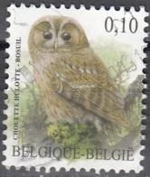 Belgique 2009 COB 3956 O Cote (2016) 0.25 Euro Chouette Hulotte Cachet Rond - Oblitérés
