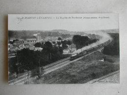 PHOTO Repro De CPA - Train - Le Rapide De Bordeaux - Trains