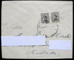 1960 Uruguay Circulated Cover Envelope Gral. Artigas Hero Militar - Uruguay