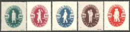766 Roumanie 1946 Mineur Mining Mines Mechanist Sower Semeur Récolte Reaper MH * Neuf CH Légère (ROU-185) - Minéraux