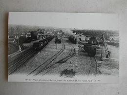PHOTO Repro De CPA - Gare - La Gare De Chaville Vélizy - Vue Générale - Trains