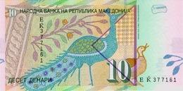 MACEDONIA P. 14h 10 D 2008 UNC - Macedonia
