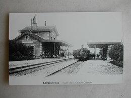PHOTO Repro De CPA - Gare - La Gare De Longjumeau (gare De La Grande Ceinture) - Treni