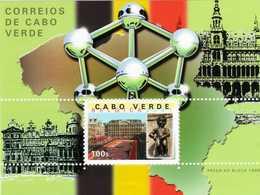 CABO VERDE 2001 BELGICA'2001 EXPOSITION PHILATÉLIQUE - Kap Verde