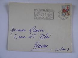Lettre 29 DOUARNENEZ-TREBOUL    1955 - 1921-1960: Modern Period