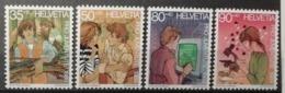 Suisse 1989 / Yvert N°1333-1336 / ** - Ongebruikt