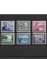 338-Allemagne III REICH-1943 Série Complète YT  805 à  810 NEUF  ** - Unused Stamps