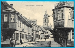 CPA AK Allemagne GROSS-GERAU : Kirchstrasse - Gross-Gerau