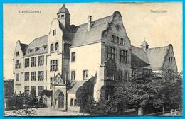 CPA AK Allemagne GROSS-GERAU : Realschule - Gross-Gerau