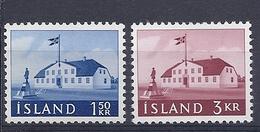 200034081  ISLANDIA  YVERT   Nº  288/90  **/MNH - 1944-... Republik