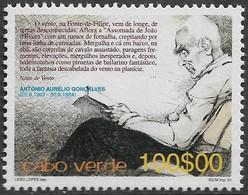 CABO VERDE 2001 CENTENÁRIO DO NASCIMENTO DE Dr. ANTÓNIO AURÉLIO GONÇALVES - Kap Verde