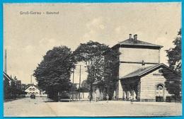 CPA AK Allemagne GROSS-GERAU : Bahnhof ** Gare Station Ferroviaire - Gross-Gerau