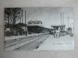 PHOTO Repro De CPA (la Vie Du Rail) - Gare - La Gare Du Raincy - Gare Intérieure - Trains