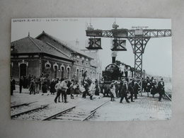 PHOTO Repro De CPA (la Vie Du Rail) - Gare - La Gare De Livry Gargan - Les Quais - Trains