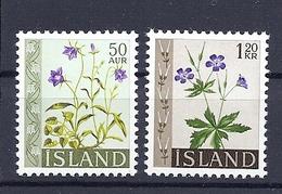 200034117  ISLANDIA  YVERT   Nº  302A/303  **/MNH - 1944-... Republik