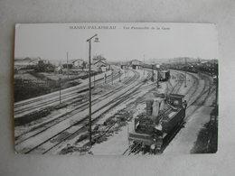 PHOTO Repro De CPA - Gare - Vue D'ensemble De La Gare De Massy Palaiseau - Trains