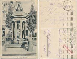 AK Dresden 1917, Artesischer Brunnen, Feldpost Erfrischungsstelle, Nach Latdorf - Dresden