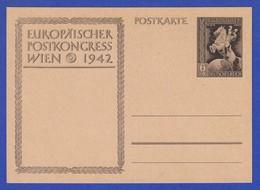Deutsches Reich Ganzsache Postkongress 1942, Sämisch P294b Ungebraucht - Allemagne