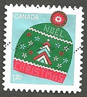 Sc. # Sc # 3136 Christmas, Warm And Cozy Touque, U.S. Rate Booklet Single 2018 Used K251 - 1952-.... Règne D'Elizabeth II
