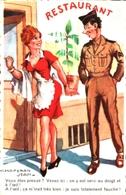 Militaire Chaperon Jean - On Y Est Servi Au Doigt Et à L'oeil, Serveuse - Chaperon, Jean