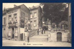 Arlon.Calvaire Saint Donat. Café Pomba Menuisier. Boucherie Chevaline. - Arlon