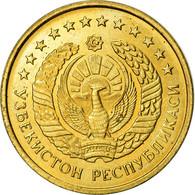 Monnaie, Uzbekistan, Tiyin, 1994, SUP, Brass Clad Steel, KM:1.1 - Uzbenisktán