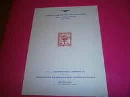 TIMBRE BELGIQUE - Commemorative Labels
