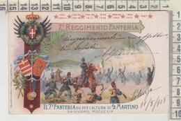 REGGIMENTALI - 7° REGGIMENTO FANTERIA 1905 - Regiments