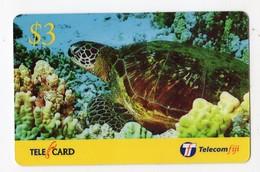 FIDJI PREPAID TORTUE Date 2003 - Fiji