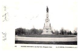 Connecticut Bridgeport  Sea Side Park Soldier's Monument - Bridgeport