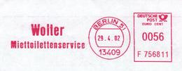 Wolter Miettoilettenservice - 13409 Berlin 2002 - Umweltverschmutzung