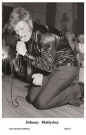 JOHNNY HALLYDAY - French Singer PHOTO POSTCARD - 1506/37 Swiftsure Postcard Edition Year 2000 - Artistes