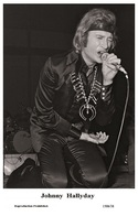 JOHNNY HALLYDAY - French Singer PHOTO POSTCARD - 1506/38 Swiftsure Postcard Edition Year 2000 - Artistes