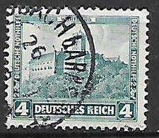 GERMANIA REICH REP.DI WEIMAR 1932 BENEFICENZA CASTELLI UNIF. 462 USATO VF - Usati