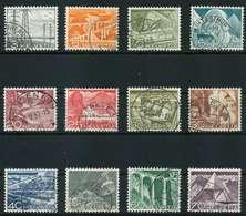 SCHWEIZ 1949 Nr 529-540 Gestempelt X868FA2 - Schweiz