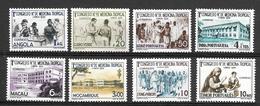 Portugal (África) 1958 - Congresso Medicina Tropical E Paludismo- Serie Completa - Afrique Portugaise