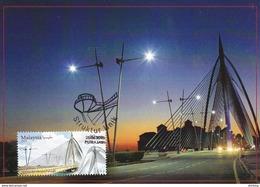 30a: Carte Maximum Card Malaysia Seri Wawasan Cable Stay Bridge  Concordant Place FDI Maxicard,MC - Bridges